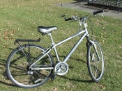 Used Cannondale Adventure 600 Silver 16""